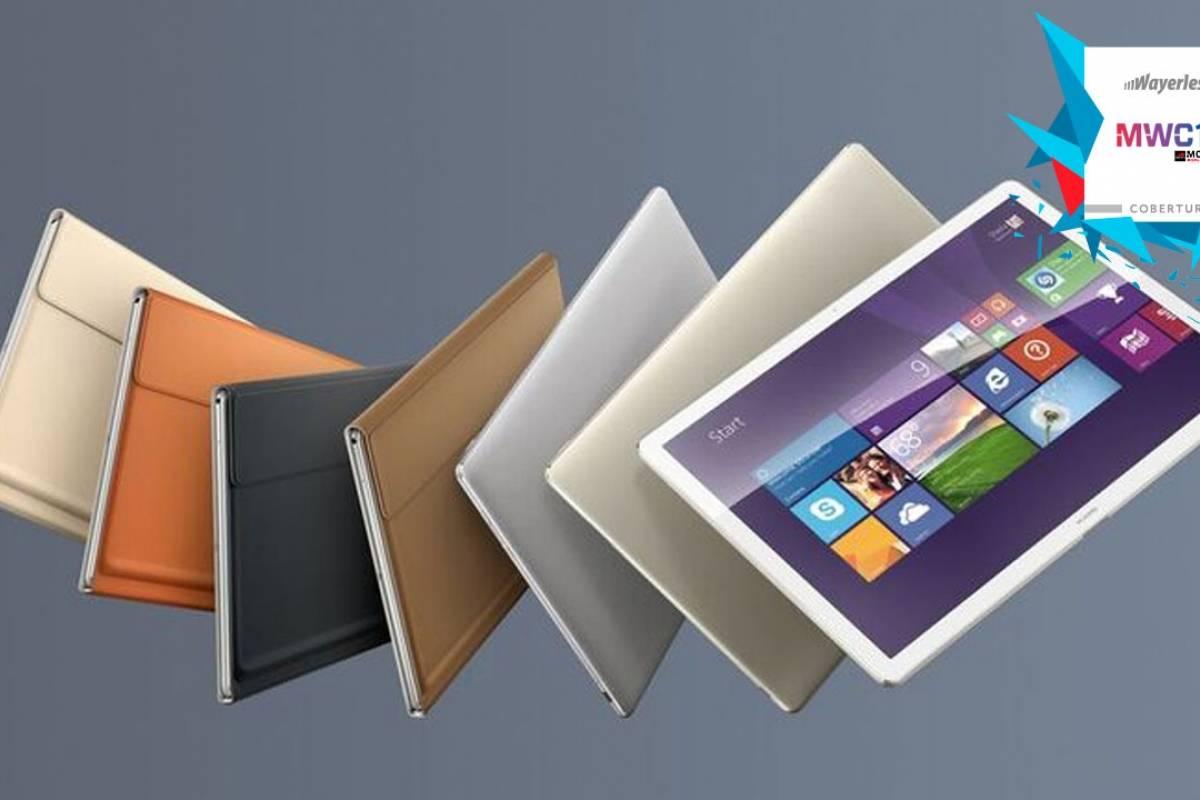 Huawei presenta MateBook, una línea que compite con Surface #MWC16