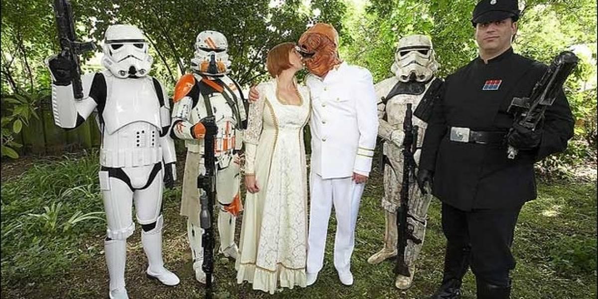 Proyecto de ley podría permitir los matrimonios Jedi en Escocia
