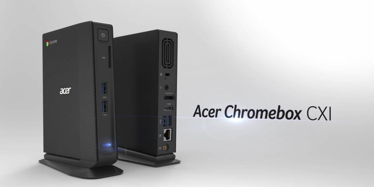 Acer actualiza su Chromebox con procesador Intel i3