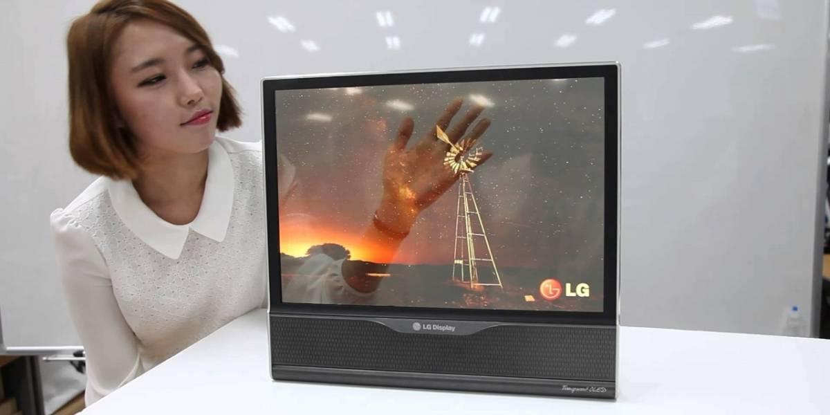LG muestra en video el prototipo de su pantalla flexible de 18 pulgadas