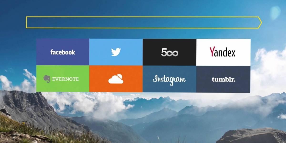 Yandex lanza versión alfa de su navegador con un diseño bastante atractivo