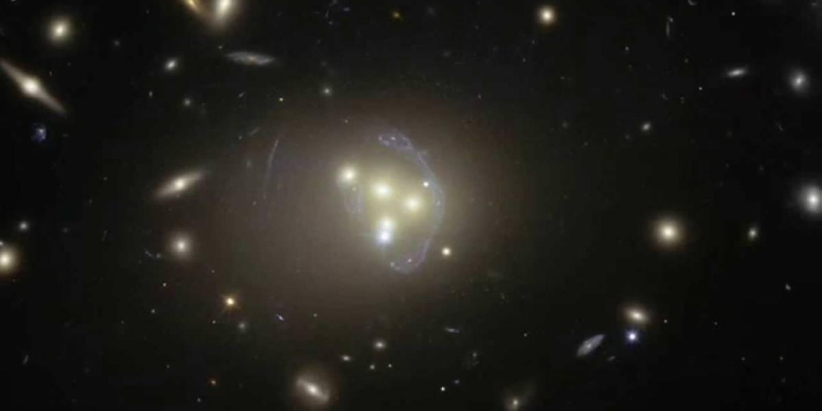 """Un """"tsunami"""" galáctico revive la formación estelar"""
