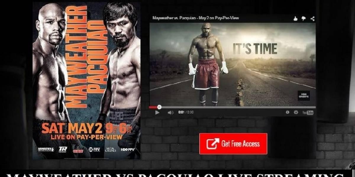 HBO demanda a sitios que planean transmitir pelea de Mayweather y Pacquiao