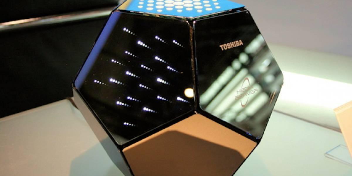 Futurología: Media Server Conceptual de Toshiba, promesas con estilo
