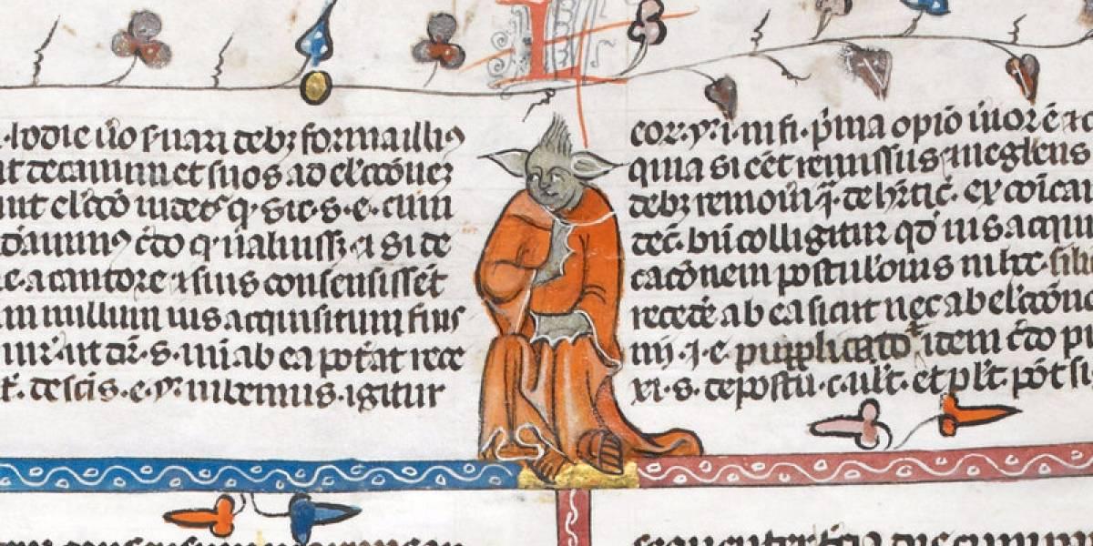 El gemelo perdido de Yoda aparece en un manuscrito del siglo XIV