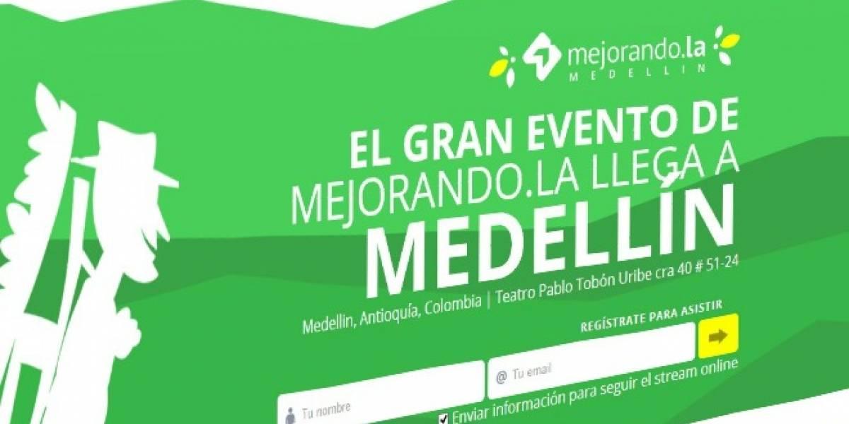 Conferencia de programación y emprendimiento Mejorando.la se realiza este sábado en Colombia