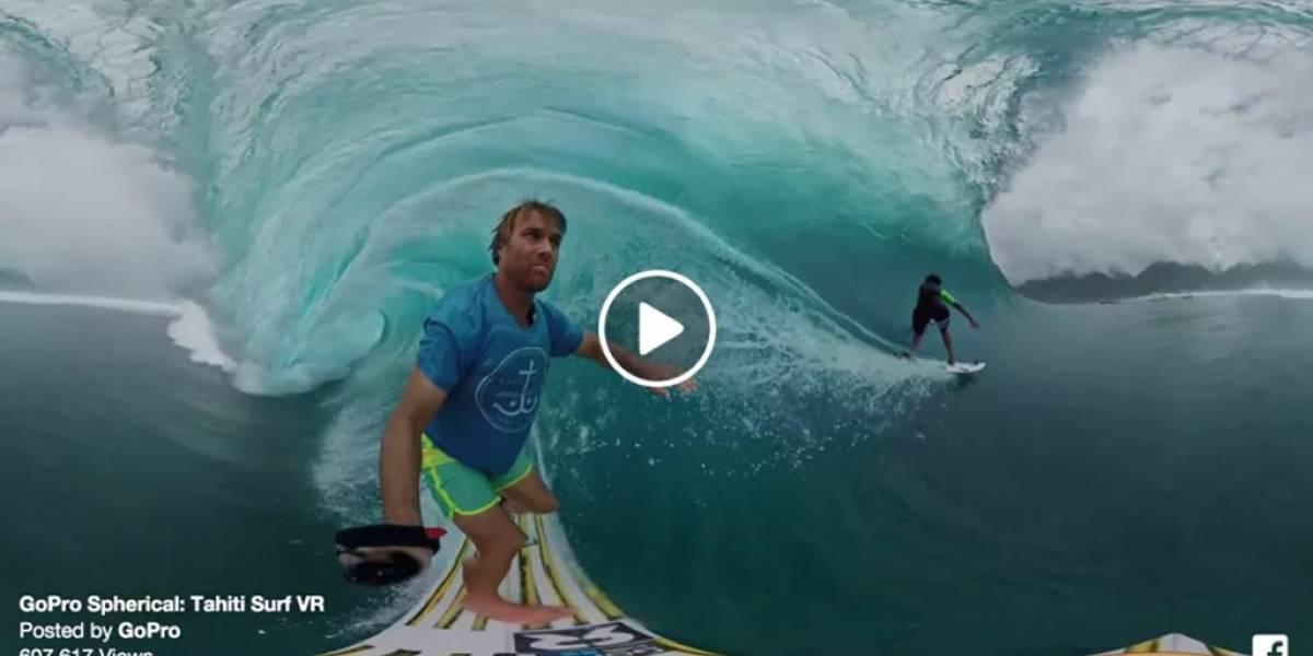 Los mejores videos en 360° en Facebook