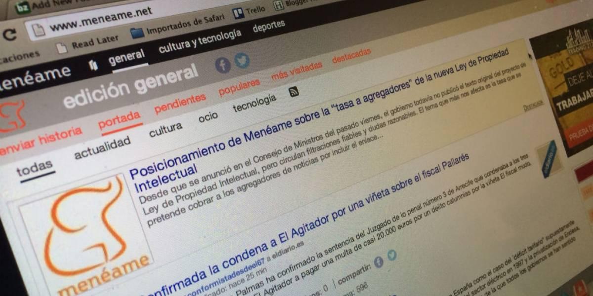 Menéame podría mudarse o cerrar por la tasa a agregadores en España