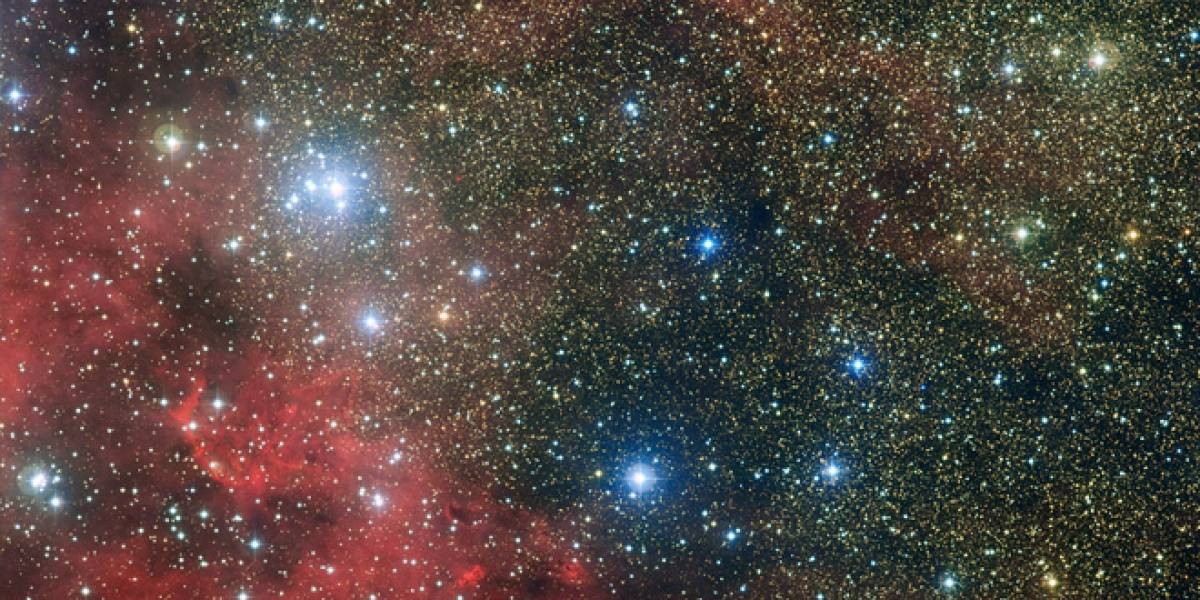 Imperdible: Fotografía revela un cúmulo estelar dentro de otro cúmulo estelar
