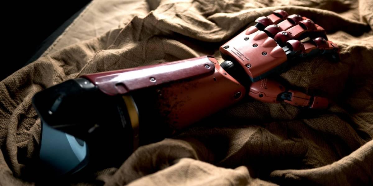 Brazo prostético de DARPA permite recuperar la sensación de tacto