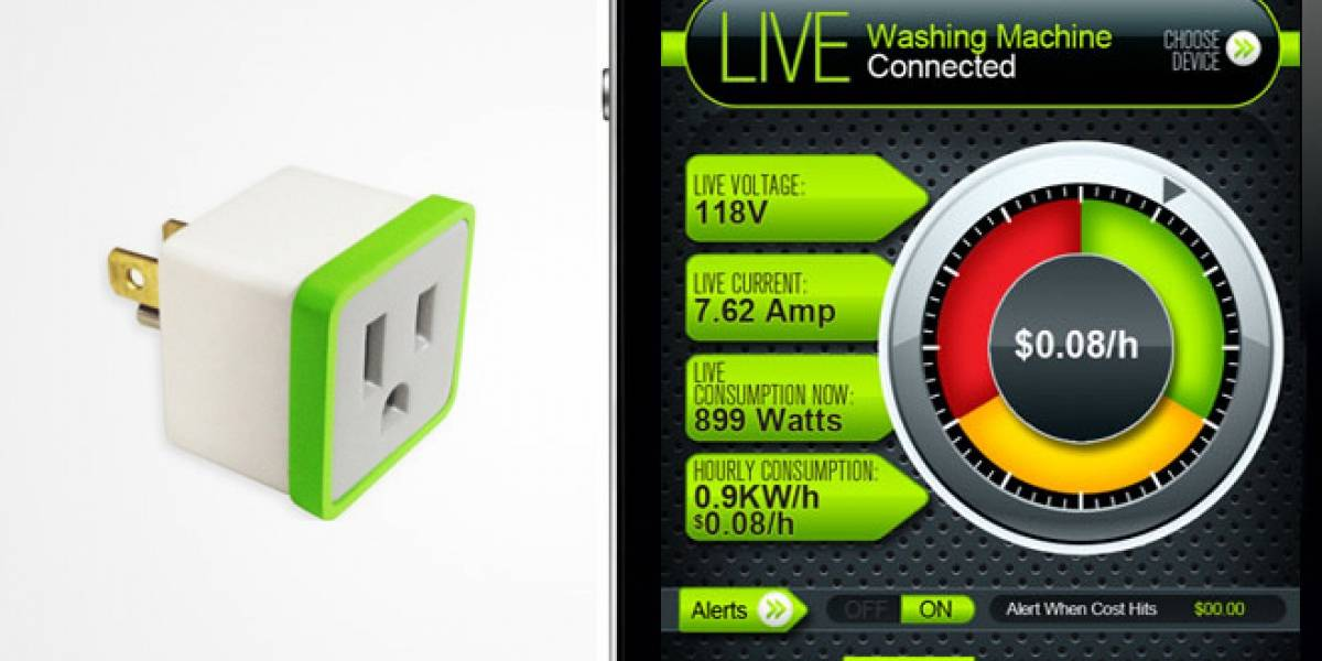 Enchufe calcula cuánta energía gastan los dispositivos que le conectas