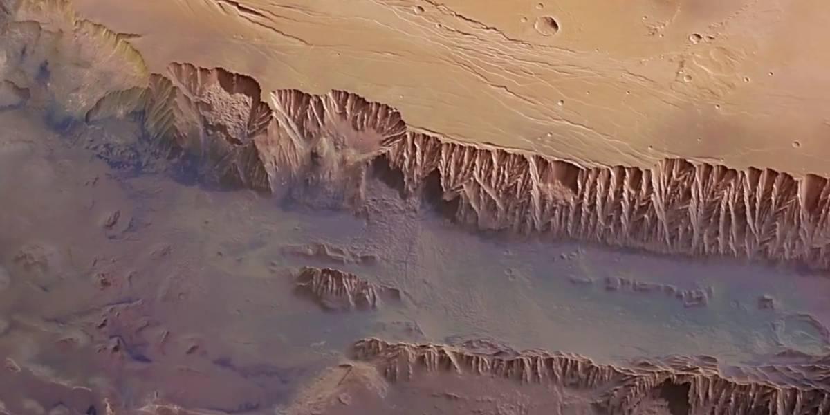 Sonda Mars Express celebra 10 años con un atlas de Marte casi completo