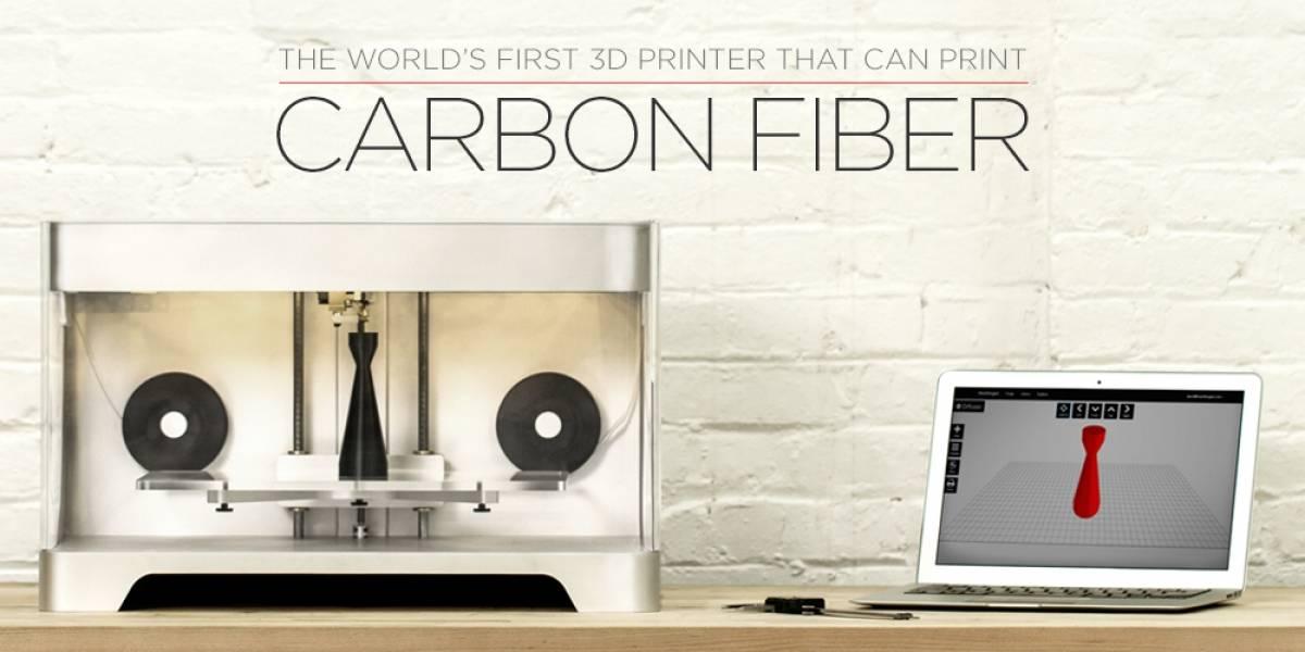 Anuncian primera impresora 3D capaz de utilizar fibra de carbono como material