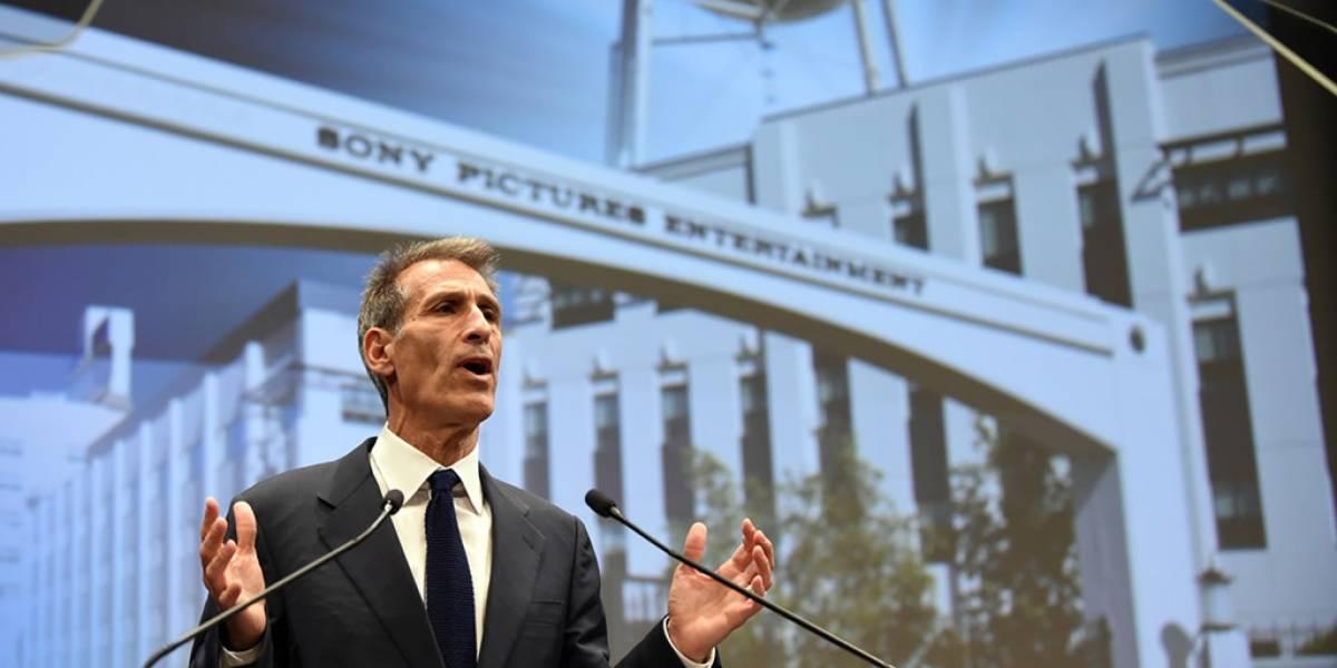 """""""Esto no nos va a derrumbar"""": CEO de Sony Pictures"""
