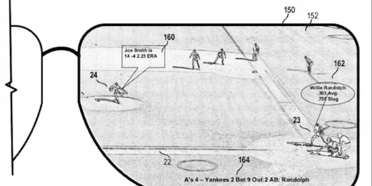 Microsoft solicita una patente para sus propios lentes de realidad aumentada