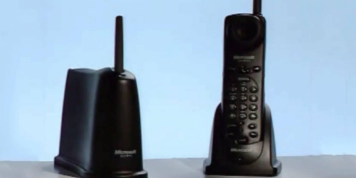 Este fue el primer teléfono de Microsoft pero tal vez no lo recuerdes