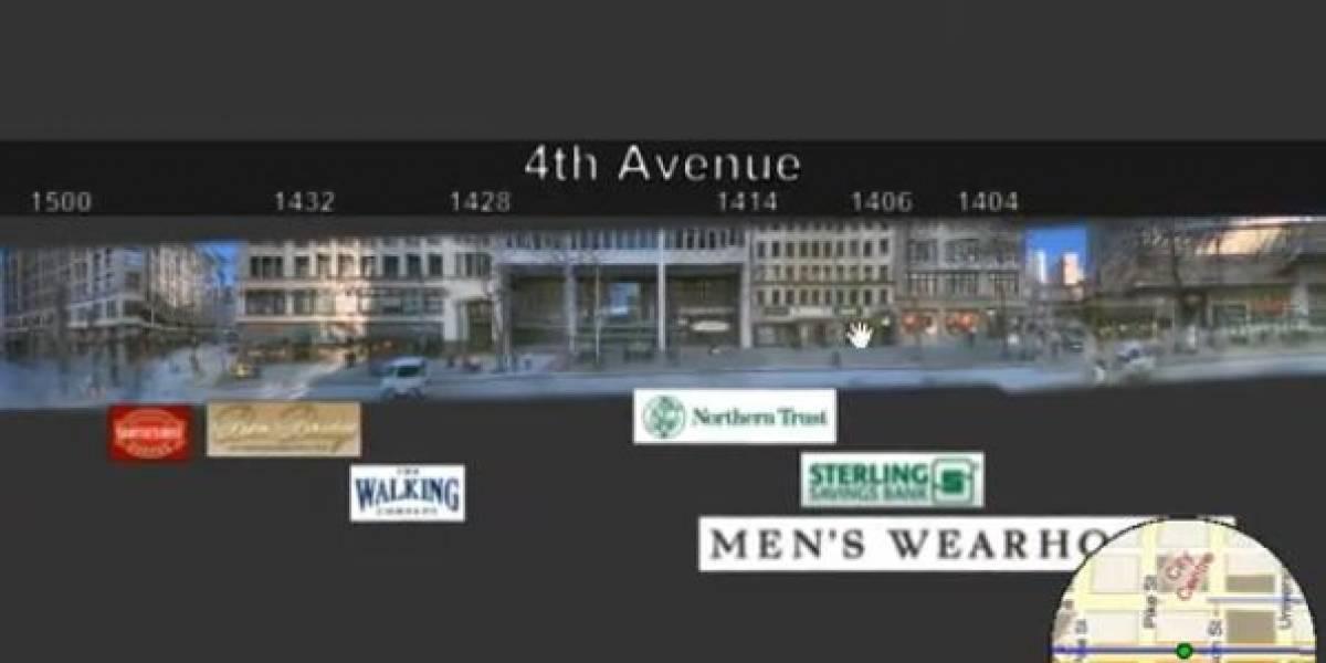 Street Slide, la apuesta de Microsoft para los mapas (Video)