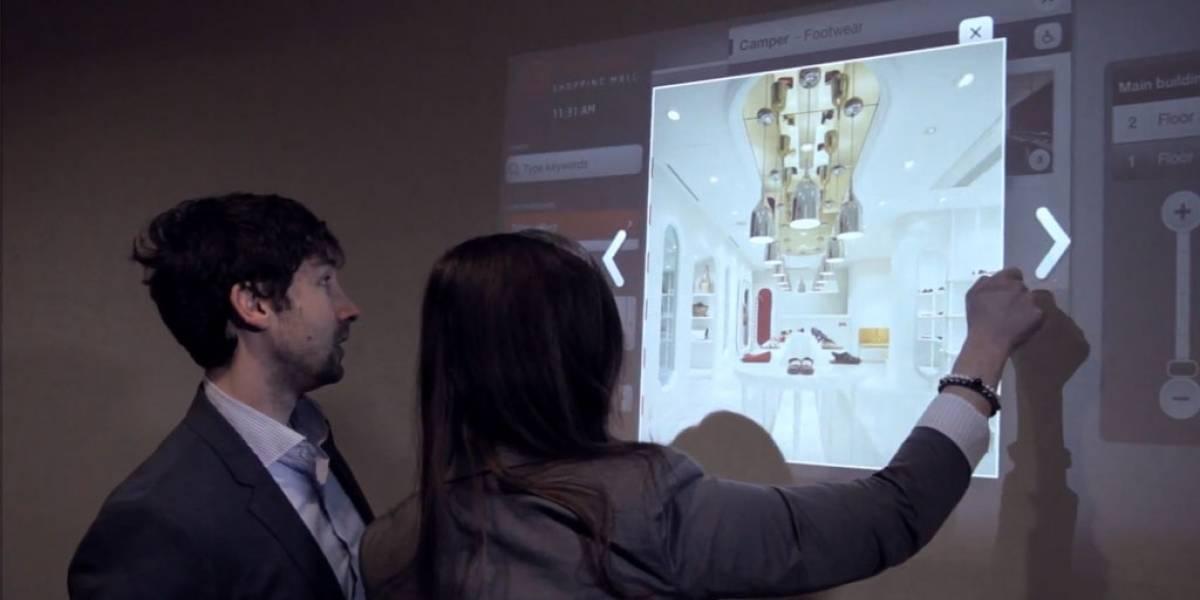 Microsoft venderá tecnología que convierte cualquier superficie en pantalla táctil