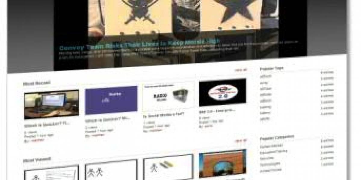 milTube: El YouTube de los militares de Estados Unidos