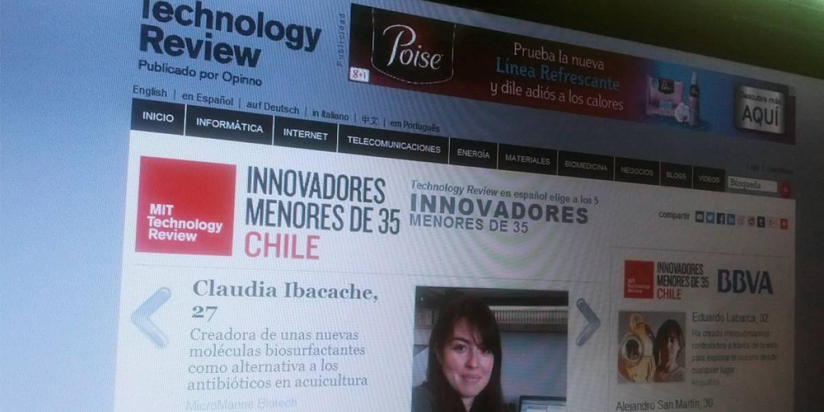 MIT premia a 5 jóvenes chilenos por sus innovaciones
