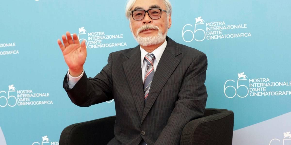 Hayao Miyazaki se retira