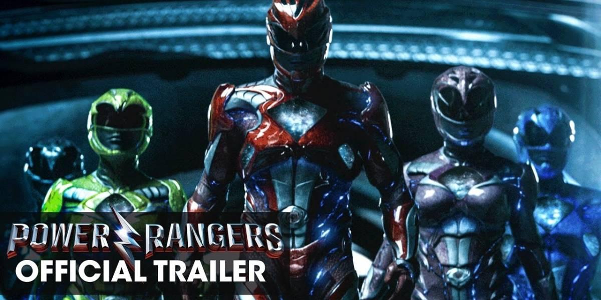 Nuevo tráiler de la nueva película de los Power Rangers