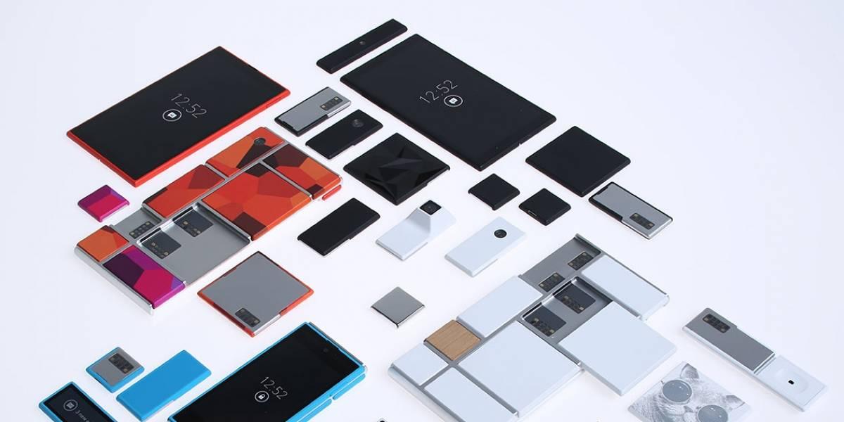 Google y Motorola quiere que armes tu propio smartphone modular con Proyecto Ara