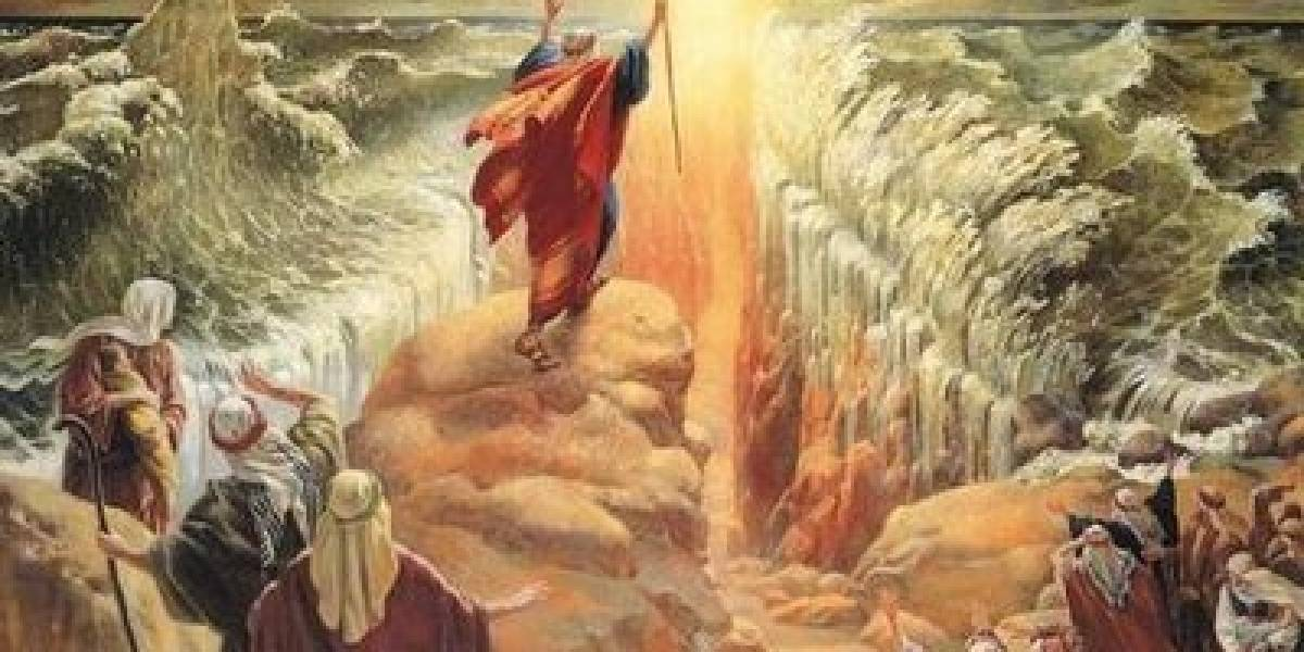 Estudio: El viento puede haber separado las aguas del Mar Rojo durante el éxodo hebreo liderado por Moisés