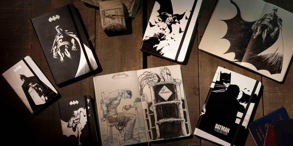Moleskine lanza una colección de libretas de Batman