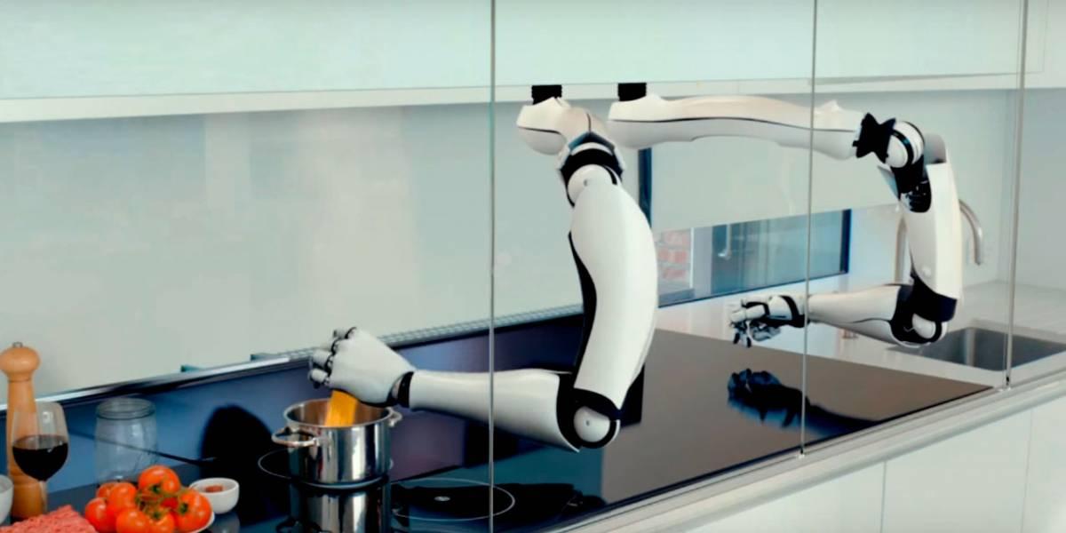 el prototipo de la cocina del futuro usa robots para todo. Black Bedroom Furniture Sets. Home Design Ideas