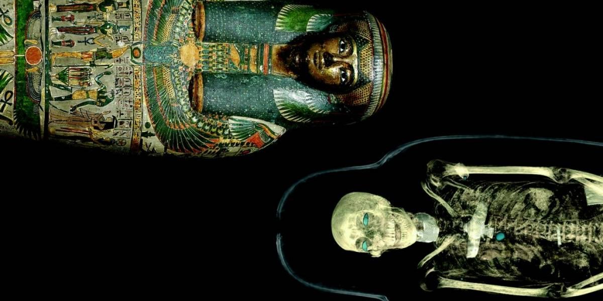 Escáner de última generación revela secretos de las momias del Museo Británico