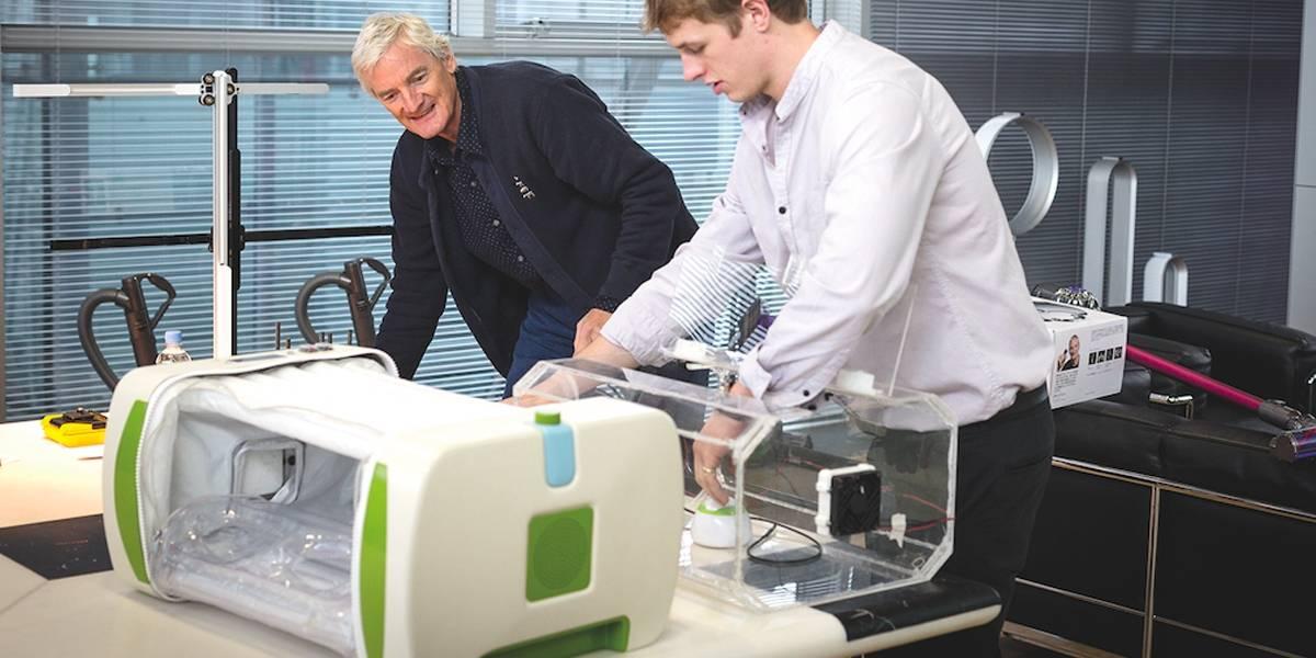 Una incubadora de bajo costo gana el premio Dyson al mejor invento del año