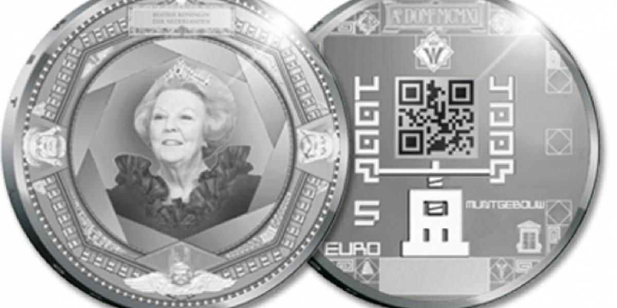 Holanda tendrá las primeras monedas con códigos QR