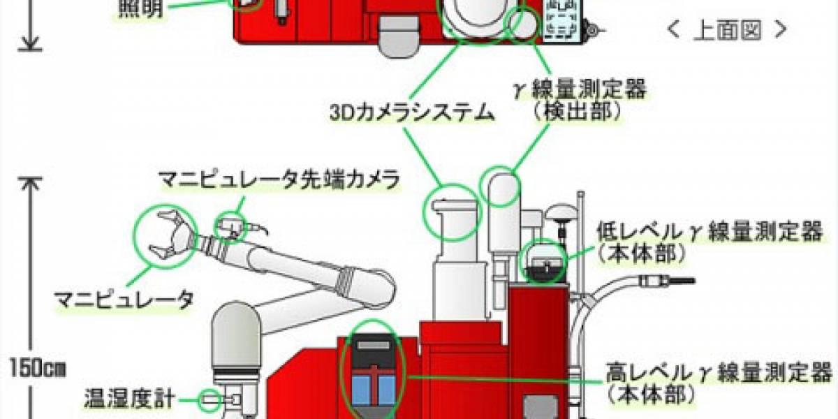 Robotcitos japoneses miden la radiación en la planta de Fukushima