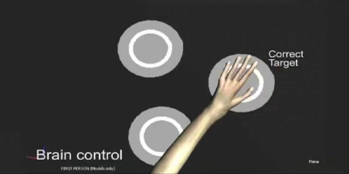 Monos controlan brazo virtual con el pensamiento; podría ayudar a parapléjicos