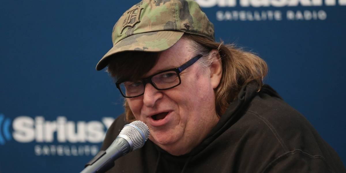 Michael Moore sorprende y estrena de la nada nueva película sobre Donald Trump