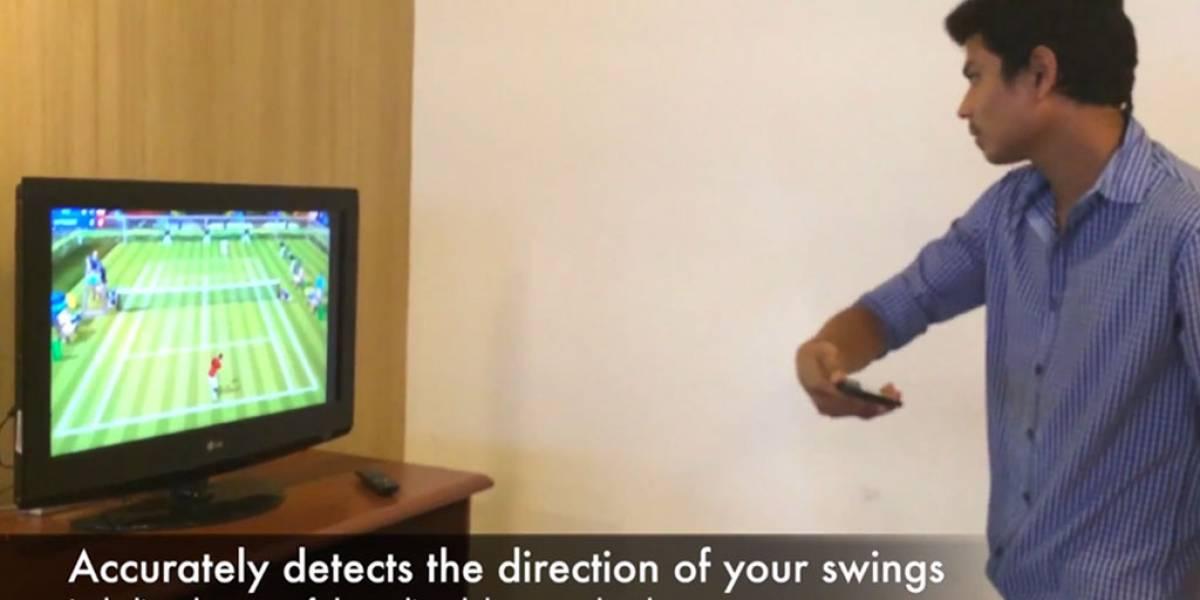 Motion Tennis emula la jugabilidad del Wii usando tu Chromecast y un Nexus 5
