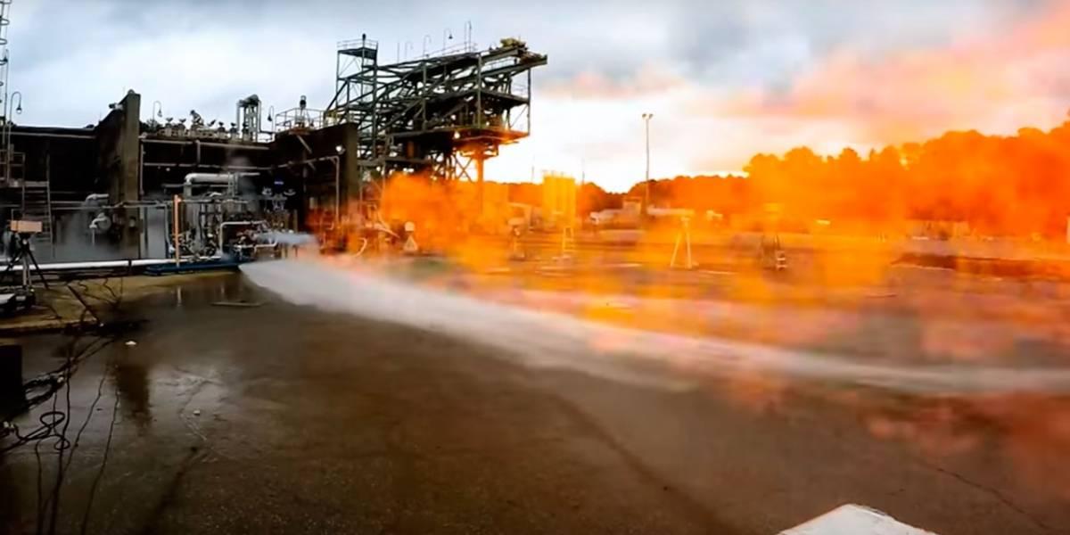 NASA construye motor de cohete impreso en 3D