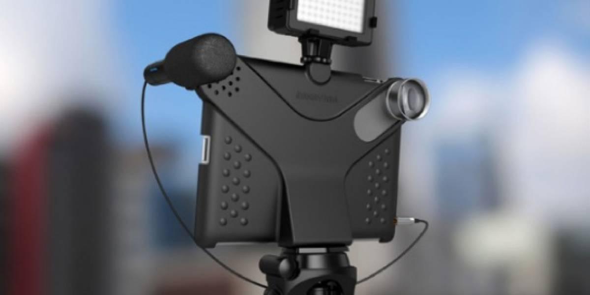 """Movie Mount: la carcasa para convertir tu iPad en una cámara """"profesional"""""""