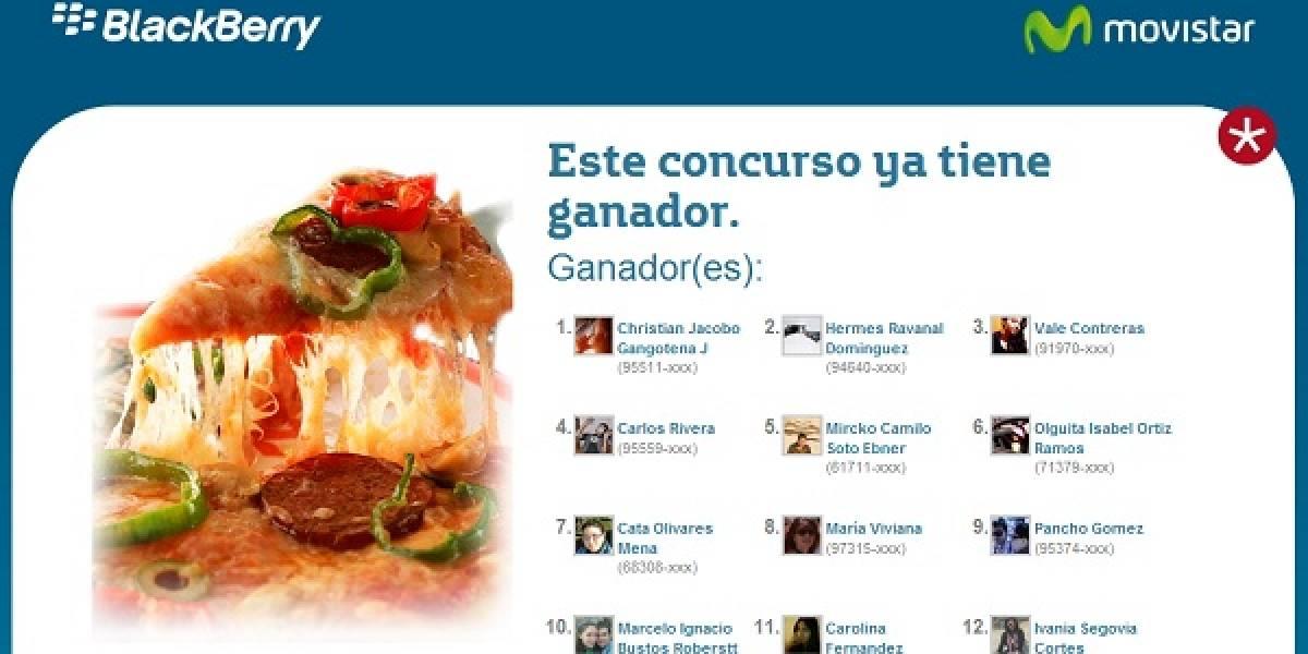 Movistar y BBM regalan premios día por medio