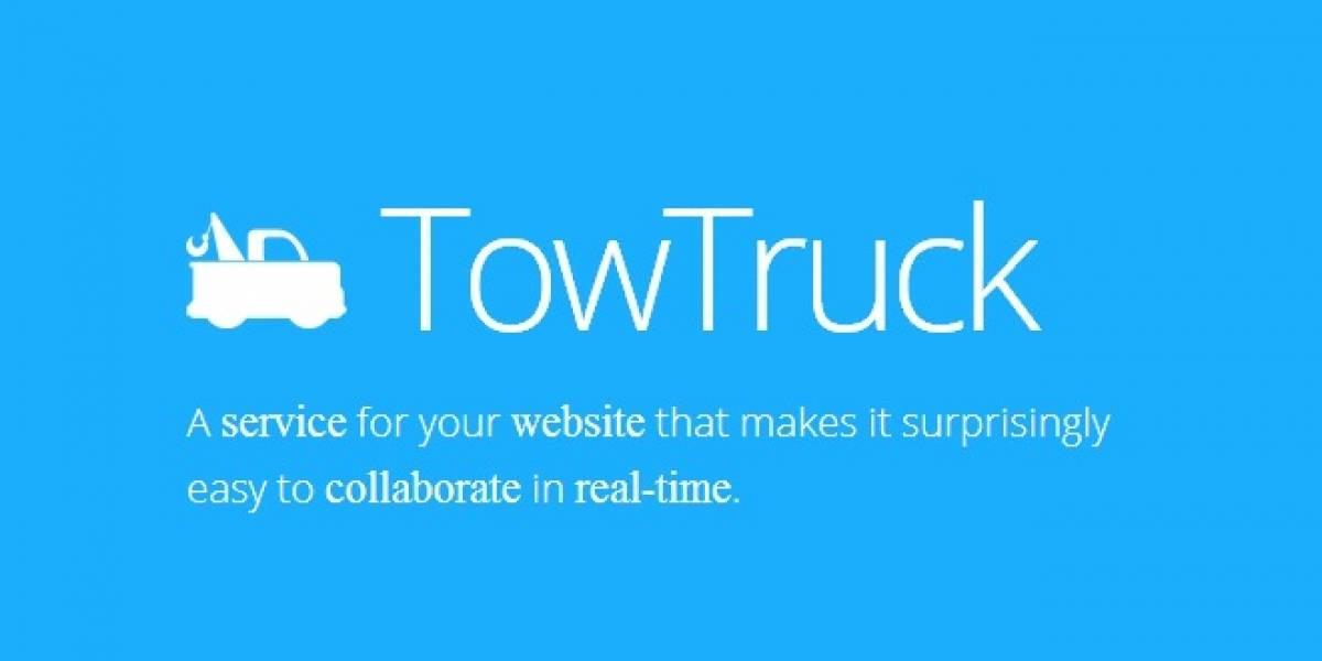 Mozilla Labs apunta a la colaboración web en tiempo real con TowTruck