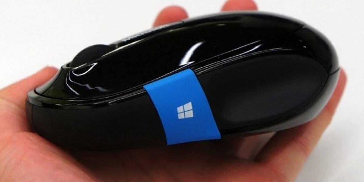 Microsoft lanza nuevos ratones con botón de inicio integrado para Windows 8