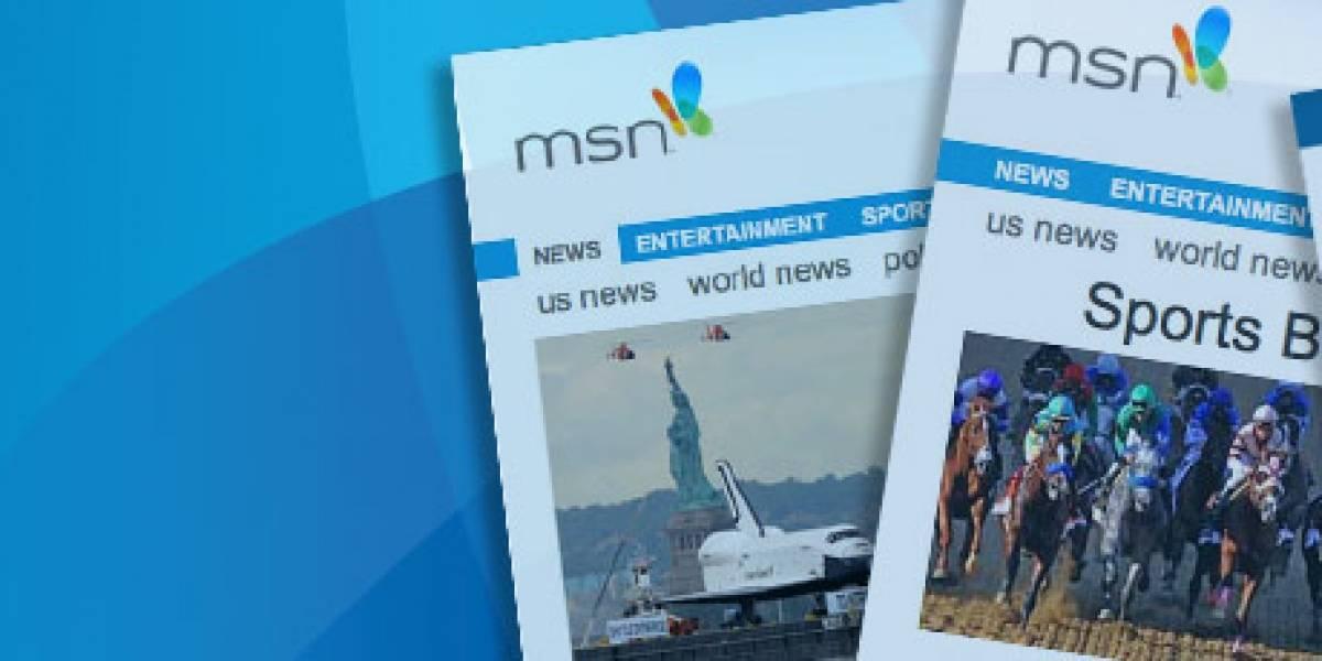 Microsoft casi intercambia su portal MSN.com por el servicio de búsqueda de Yahoo!