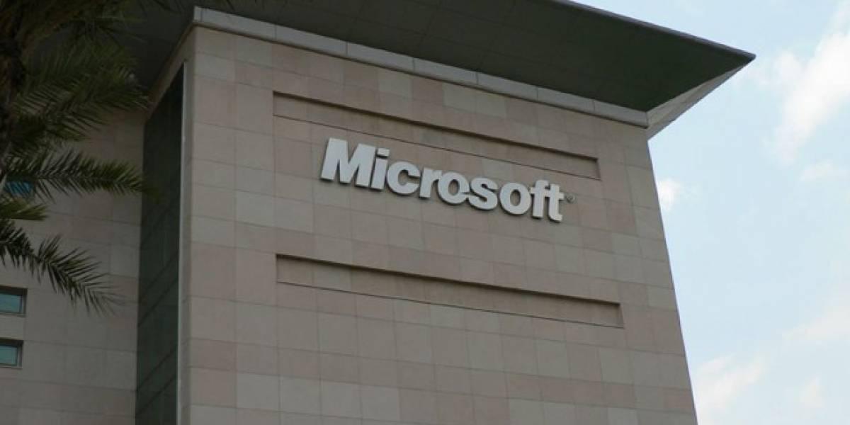 Ganancias de Microsoft bajaron en el primer trimestre, pero son mejores de lo esperado
