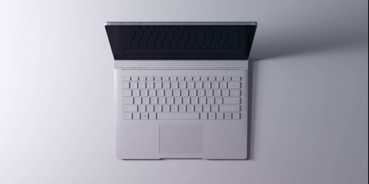 """Esta es la nueva Microsoft Surface Book la laptop de 13"""" más poderosa"""