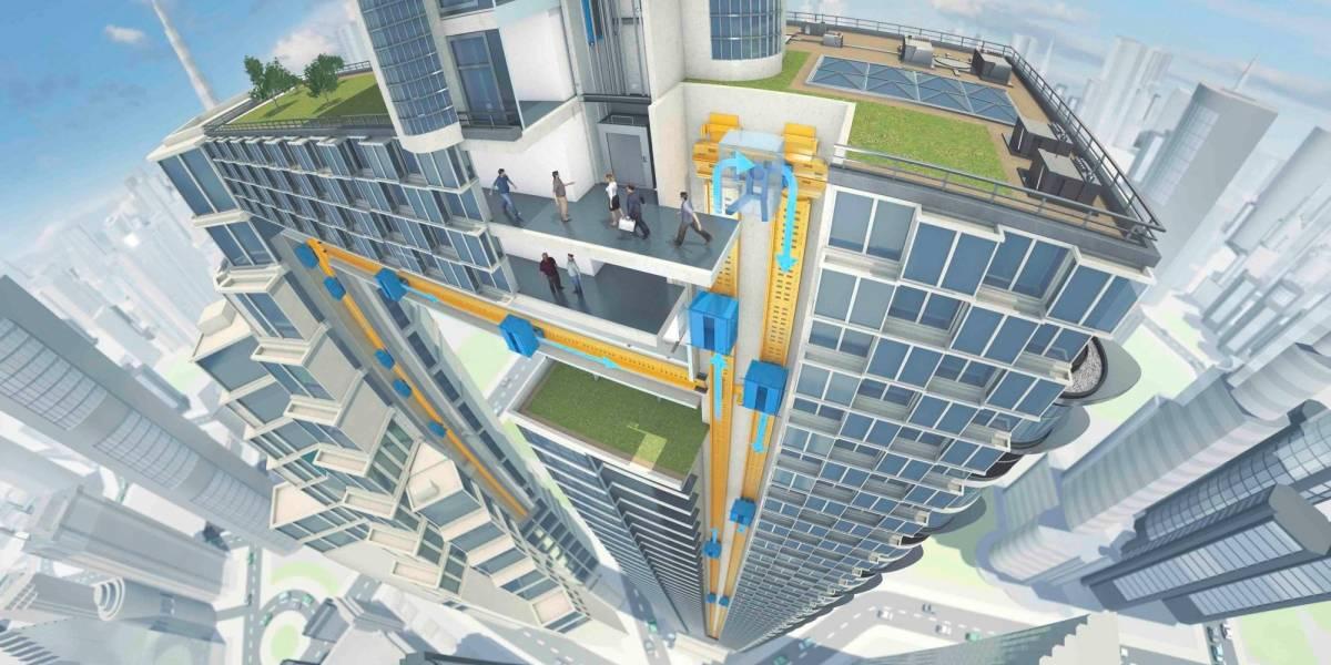 Multi, el primer ascensor maglev que puede moverse horizontalmente