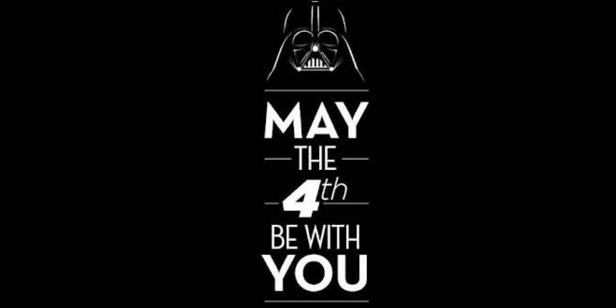 Hoy es el día de Star Wars, que la fuerza te acompañe