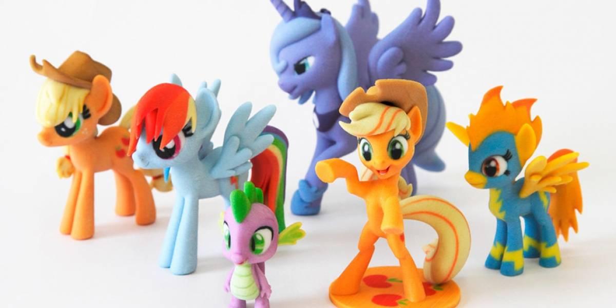 Hasbro se asocia con compañía de impresión 3D para promocionar My Little Pony