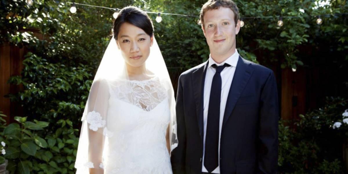 Mark Zuckerberg y su esposa fueron los segundos mayores donantes de dinero en 2012