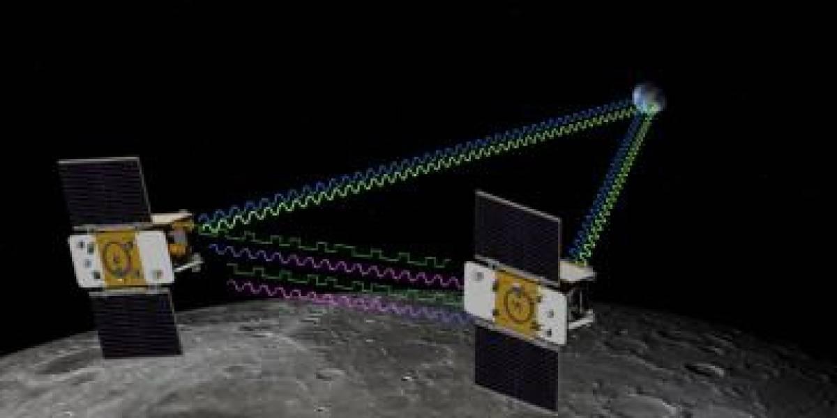 La NASA lanza dos naves hacia la Luna